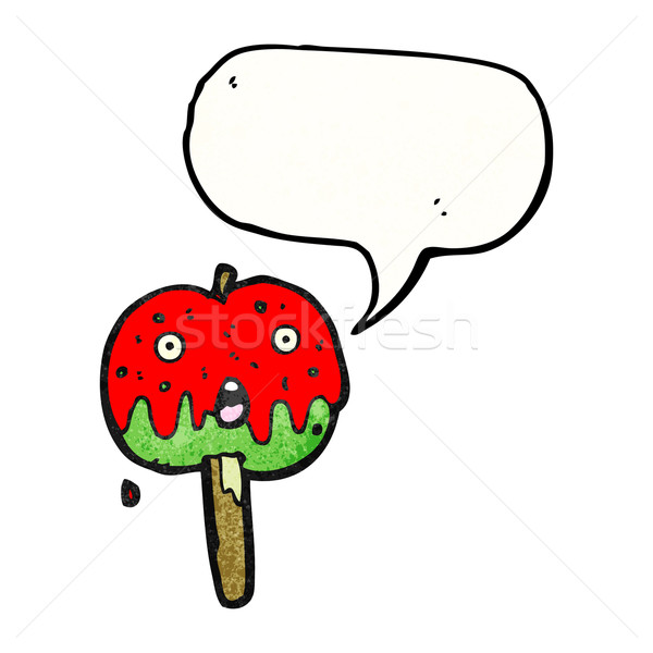 toffee apple cartoon Stock photo © lineartestpilot