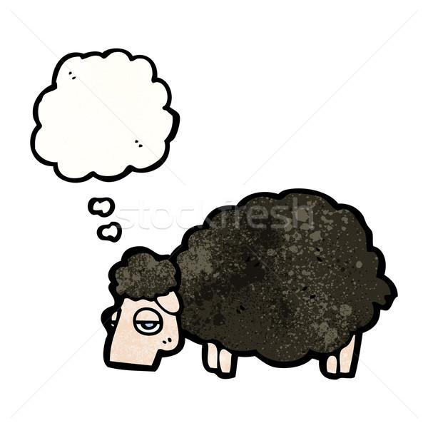 black sheep cartoon  Stock photo © lineartestpilot