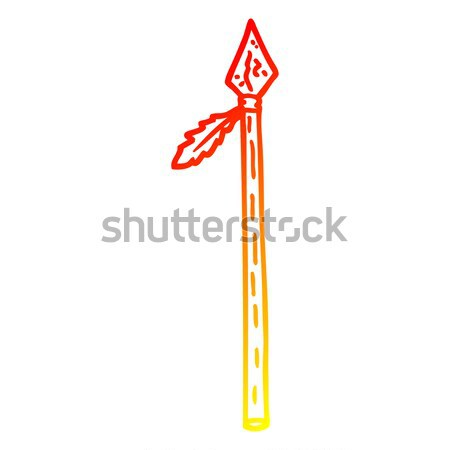 comic cartoon sword Stock photo © lineartestpilot