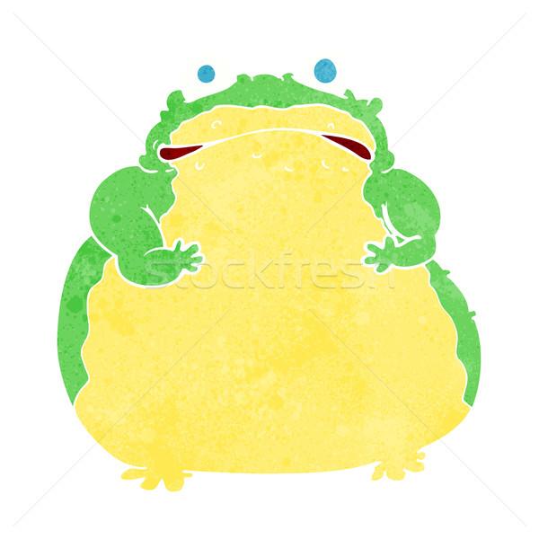 cartoon fat toad Stock photo © lineartestpilot
