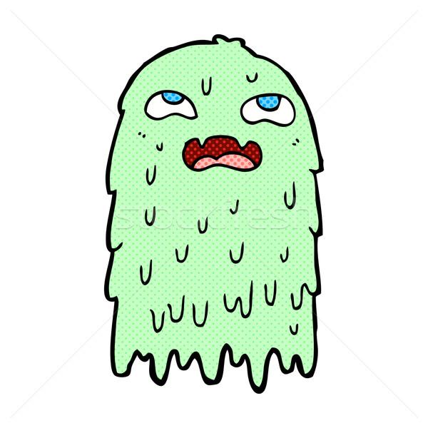 gross comic cartoon ghost Stock photo © lineartestpilot