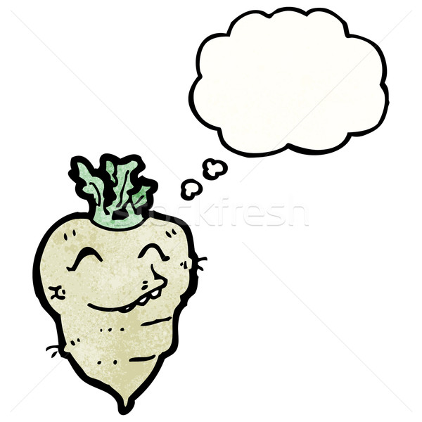 turnip cartoon character Stock photo © lineartestpilot
