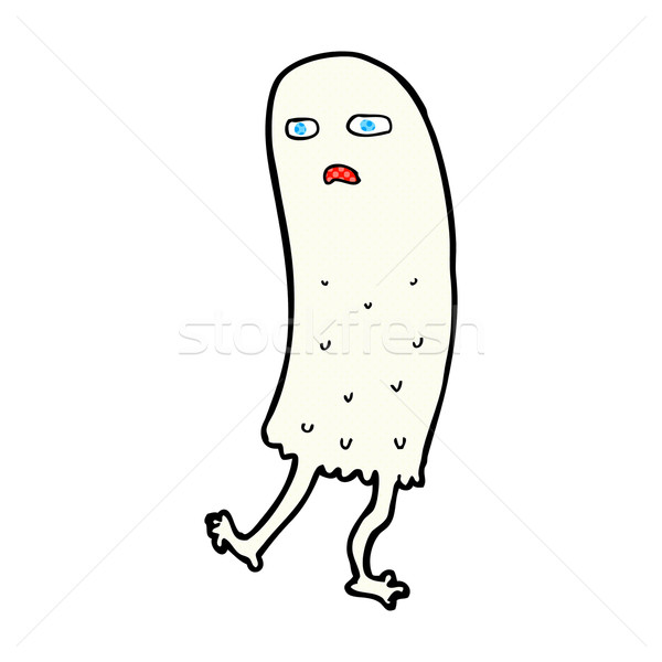 comic cartoon funny ghost Stock photo © lineartestpilot
