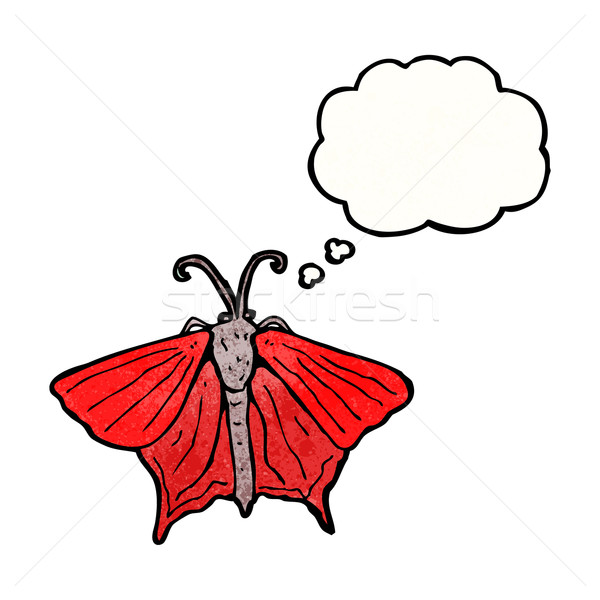 cartoon moth Stock photo © lineartestpilot