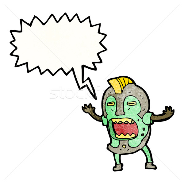 tribal shaman cartoon Stock photo © lineartestpilot