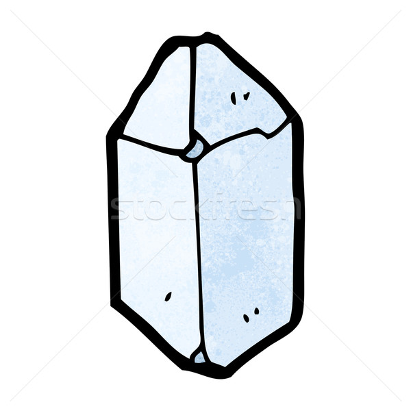 cartoon crystal Stock photo © lineartestpilot