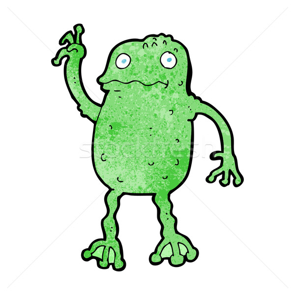 cartoon frog Stock photo © lineartestpilot