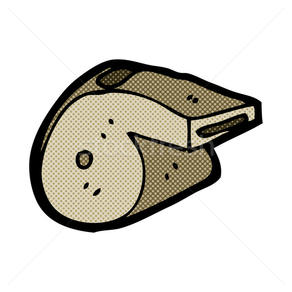Komik karikatür ıslık Retro stil Stok fotoğraf © lineartestpilot