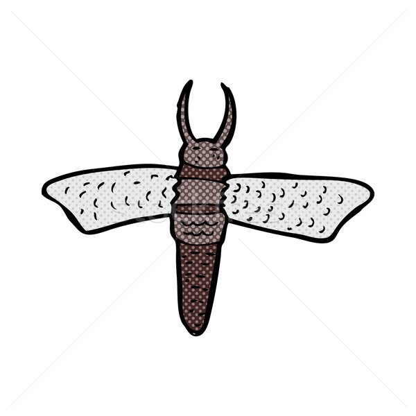 Képregény rajz rovar retro képregény stílus Stock fotó © lineartestpilot