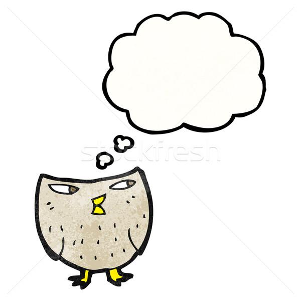 cartoon little owl Stock photo © lineartestpilot