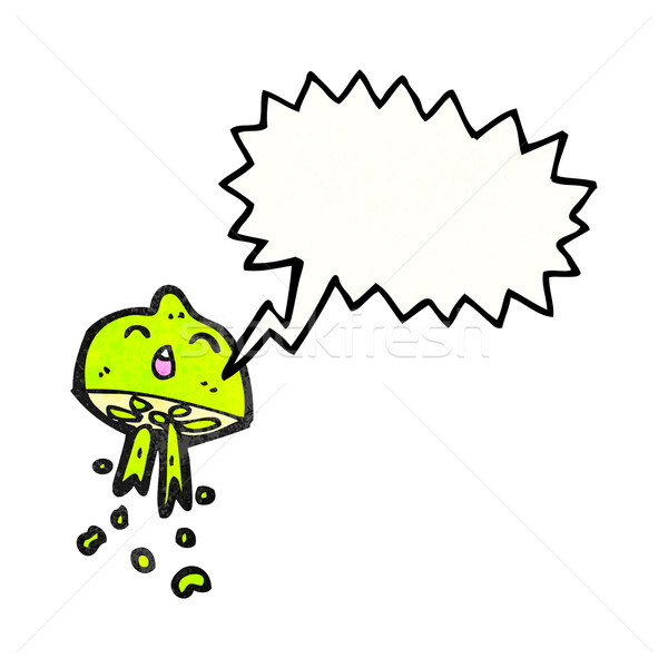 cartoon squirting lime Stock photo © lineartestpilot