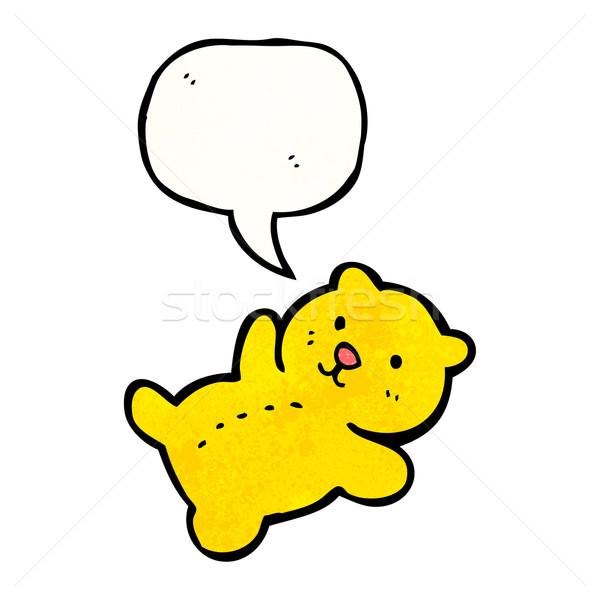 Сток-фото: мало · мишка · Cartoon · ретро · рисунок · Cute