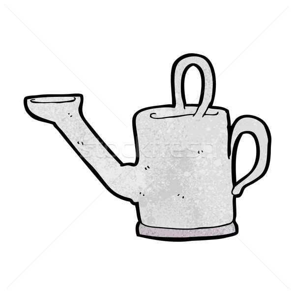 watering can cartoon Stock photo © lineartestpilot