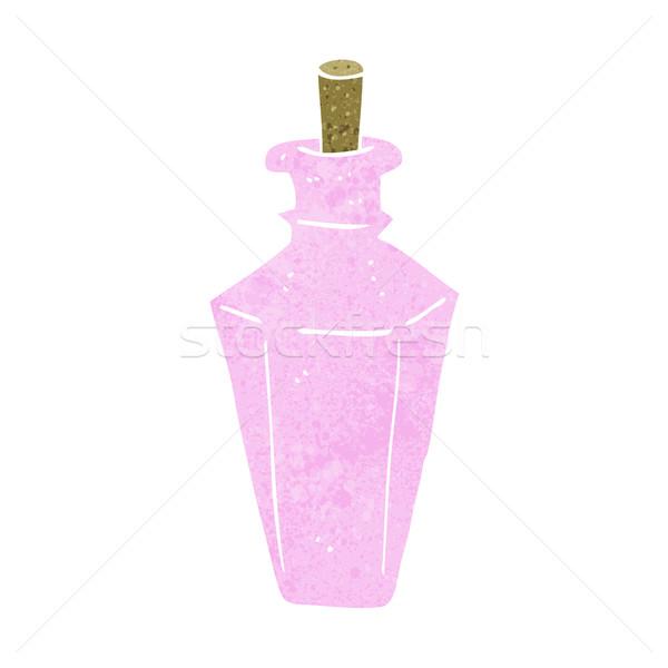 漫画 香水 香り ボトル デザイン 芸術 ストックフォト © lineartestpilot
