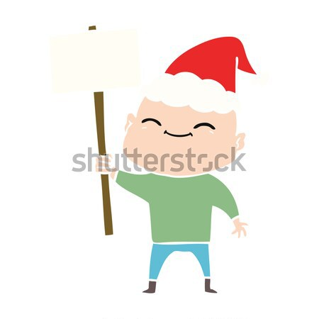 cartoon frightened old man Stock photo © lineartestpilot