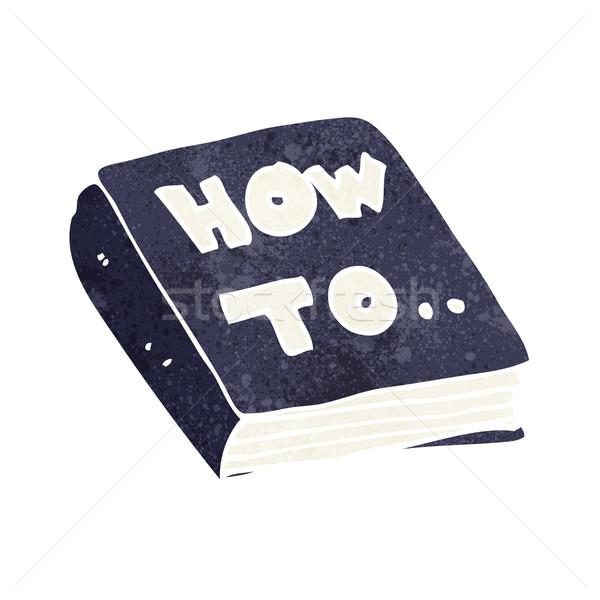cartoon how to book Stock photo © lineartestpilot