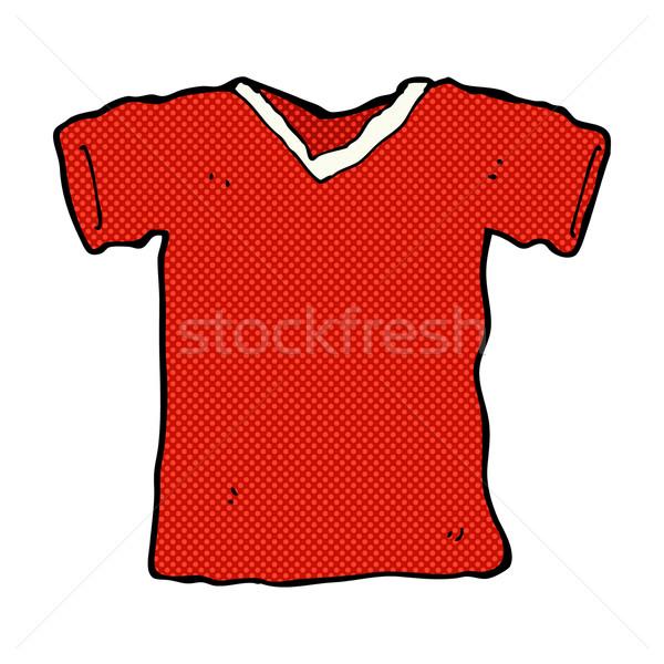 comic cartoon tee shirt Stock photo © lineartestpilot