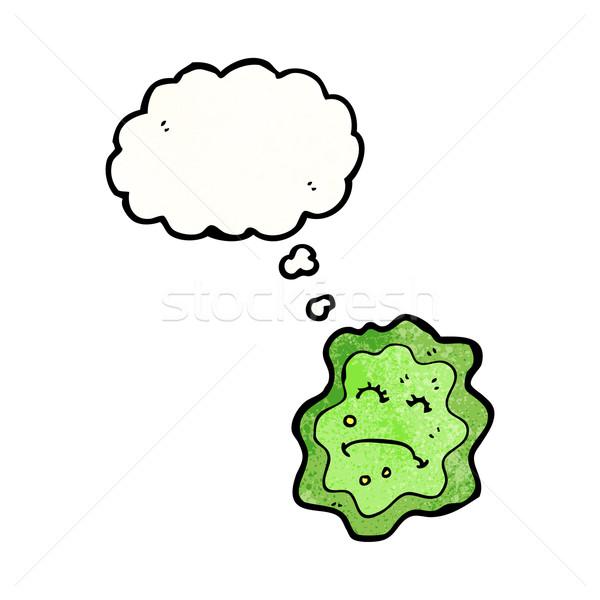 Stock photo: cartoon germ