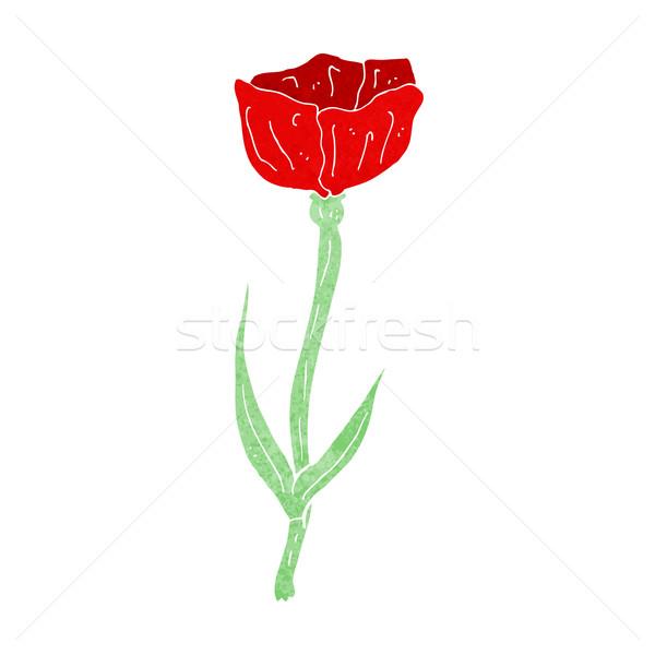 Cartoon Poppy Vector Illustration Lineartestpilot 4933786