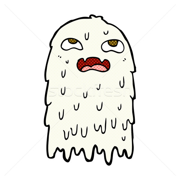 gross comic cartoon ghost Stock photo © lineartestpilot