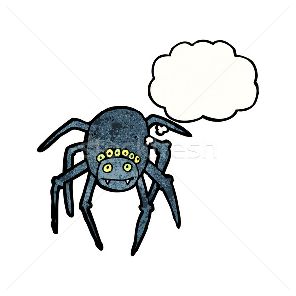 cartoon tarantula Stock photo © lineartestpilot