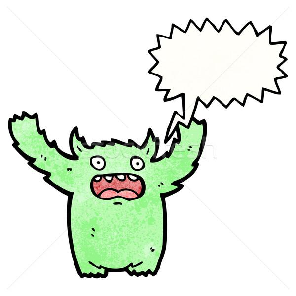 cartoon monster roaring Stock photo © lineartestpilot