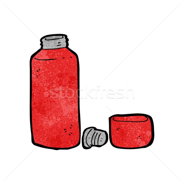 cartoon vaccum flask Stock photo © lineartestpilot