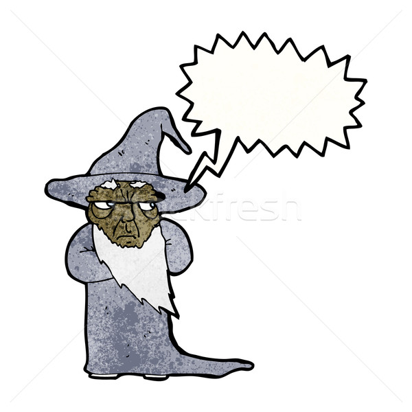 cartoon wizard Stock photo © lineartestpilot