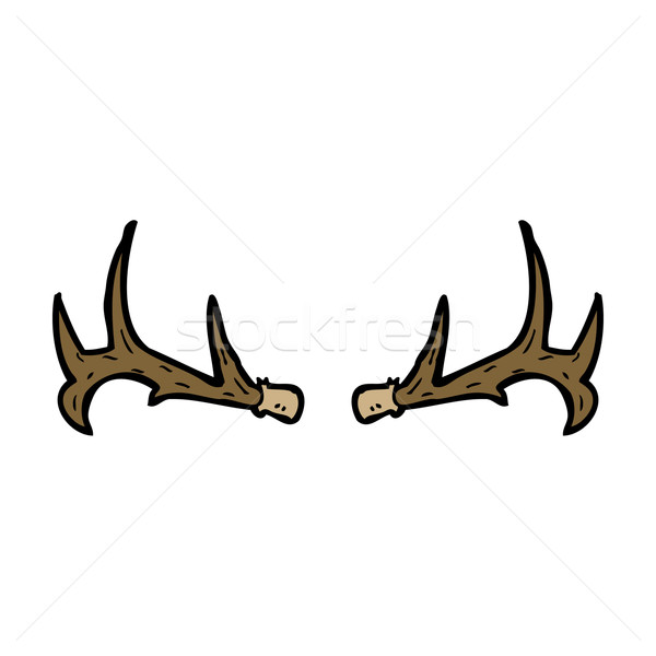 cartoon antlers Stock photo © lineartestpilot