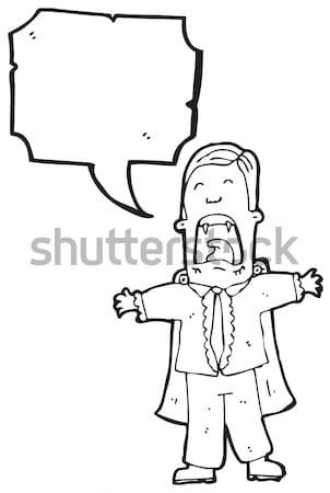 cartoon man accusing Stock photo © lineartestpilot