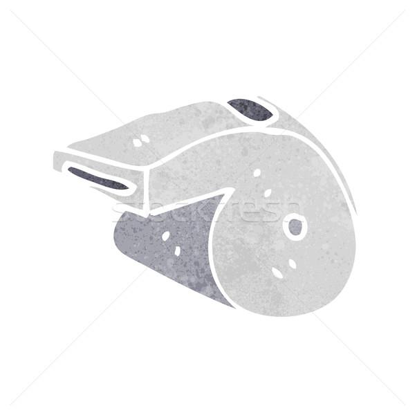 Cartoon fluiten hand ontwerp gek clip Stockfoto © lineartestpilot