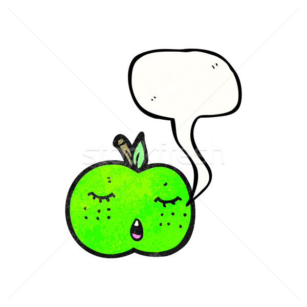 Cute cartoon pomme version texture main Photo stock © lineartestpilot