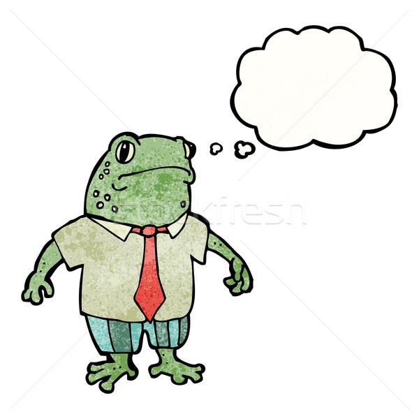 cartoon toad boss Stock photo © lineartestpilot