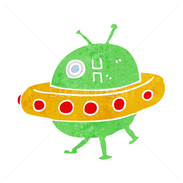 cartoon UFO Stock photo © lineartestpilot