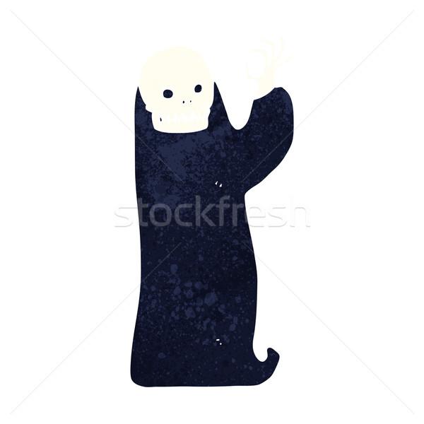 cartoon waving halloween ghoul Stock photo © lineartestpilot