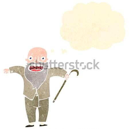 漫画 誇りに思う 男 手 デザイン クレイジー ストックフォト © lineartestpilot