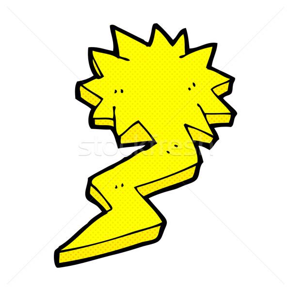 Dessinées cartoon symbole rétro Photo stock © lineartestpilot