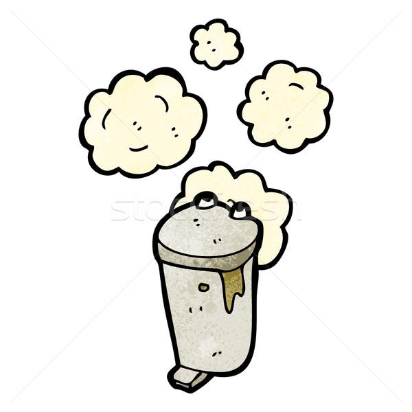 smelly old bin cartoon Stock photo © lineartestpilot