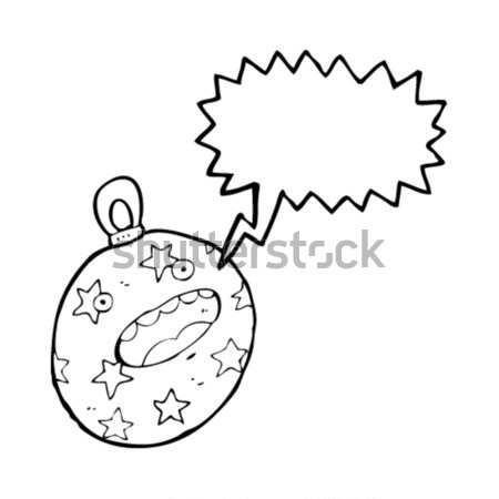 cartoon burning bomb Stock photo © lineartestpilot