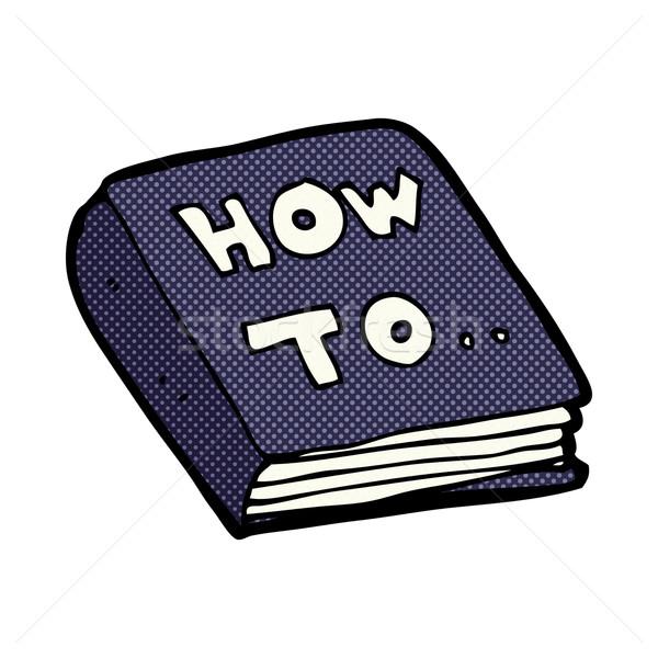 comic cartoon how to book Stock photo © lineartestpilot