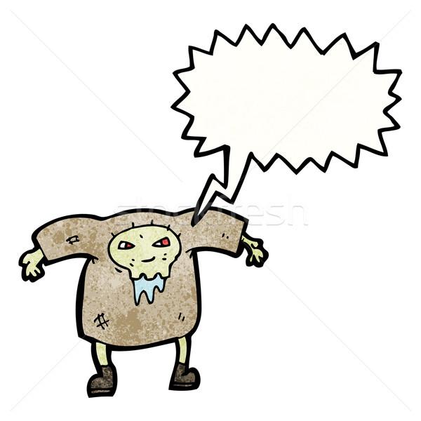 Stock photo: cartoon zombie