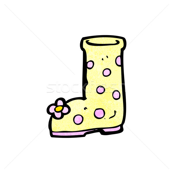 cartoon boot Stock photo © lineartestpilot