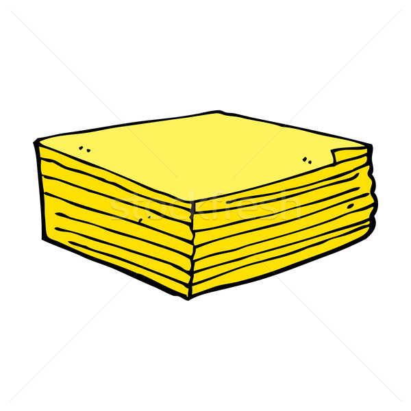 cartoon note pads Stock photo © lineartestpilot