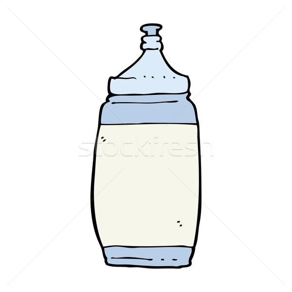Cartoon une bouteille d'eau eau design art gymnase Photo stock © lineartestpilot