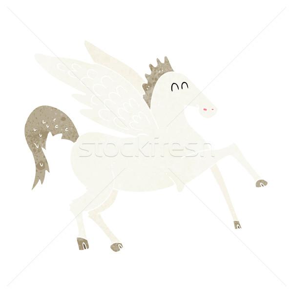cartoon pegasus Stock photo © lineartestpilot