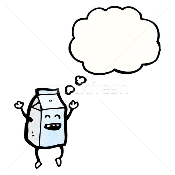 cartoon milk carton Stock photo © lineartestpilot