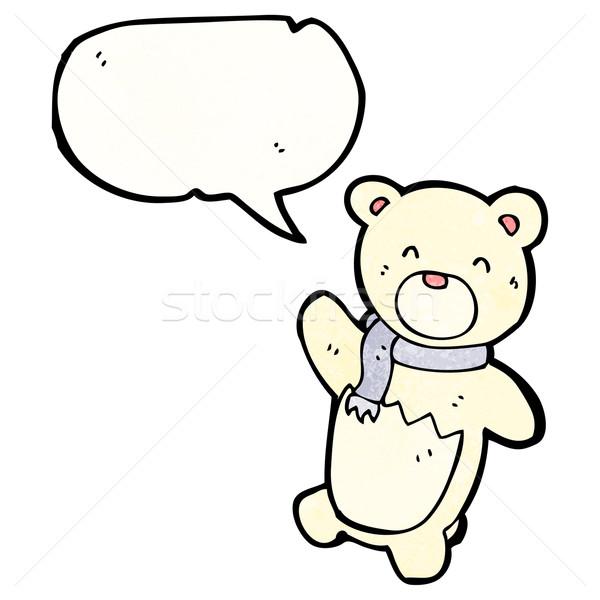 シロクマ カブ レトロな クマ ストックフォト © lineartestpilot