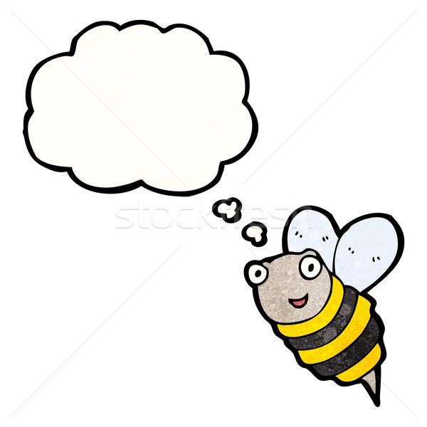 Stock photo: cartoon bee