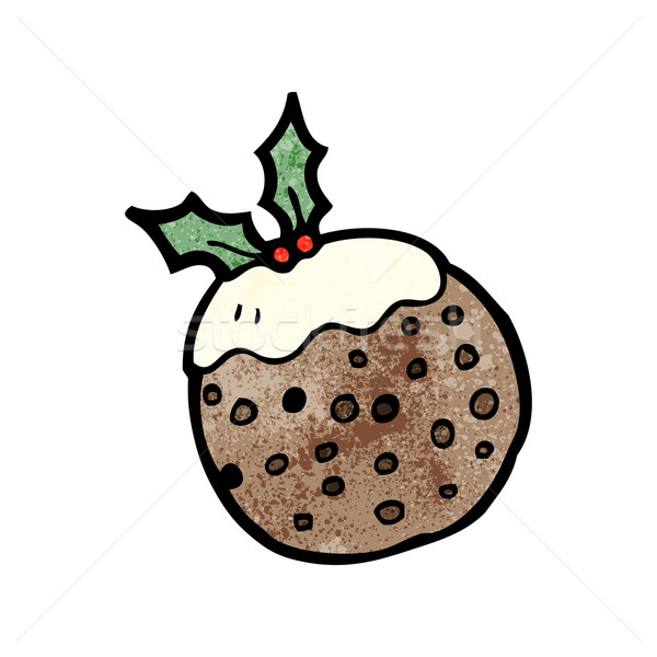 christmas,xmas,pudding Stock photo © lineartestpilot