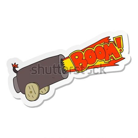 cartoon bloody sword Stock photo © lineartestpilot